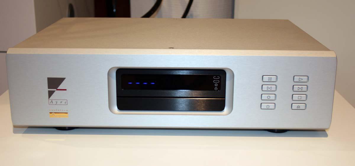 Ayre CX-7e MP CD-Spieler, silber